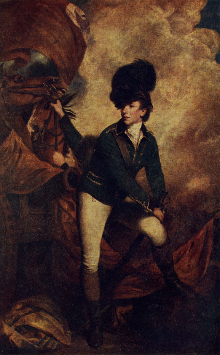 Рейнольде. Портрет полковника Тарлитона. Лондон, Национальная галлерея