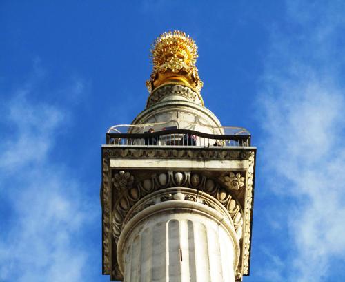 Памятник Великому Пожару в Лондоне
